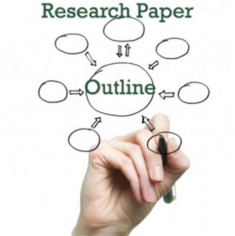How to outline a research paper with mla